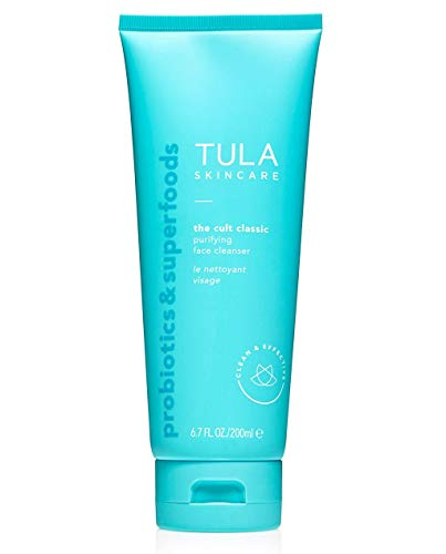 TULA Probiotic Purifying Face Cleanser | Gentle and Effective Face Wash, Makeup Remover, Nourishing and Hydrating | 6.7 oz.