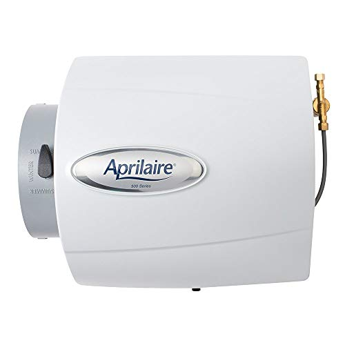 Aprilaire 500 Whole House Humidifier, Automatic Compact Furnace Humidifier (Renewed)