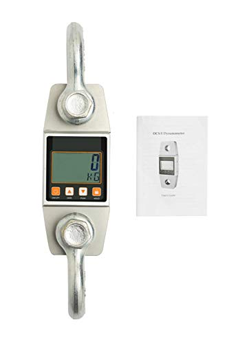 Hyindoor Digital Hanging Scale 3000kg/6000lb Industrial Heavy Duty Crane Scale Smart High Accuracy Electronic Crane Scale
