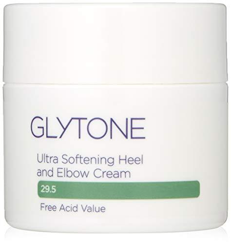 Glytone Ultra Softening Heel and Elbow Cream with 29.5 Free Acid Value Glycolic Acid & Glycerin, At-Home Pedicure, Exfoliate, Retexturize, Moisturize, Fragrance-Free, 1.7 oz.