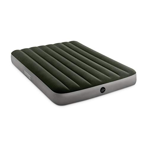 Intex Dura-Beam Standard Series Prestige Downy Airbed with Battery Pump, Queen