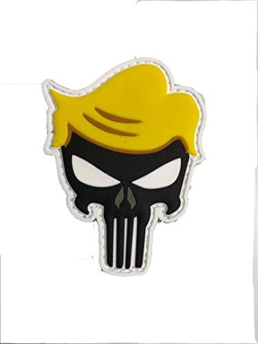 PVC Punisher Trump Glow in The Dark Morale Patch