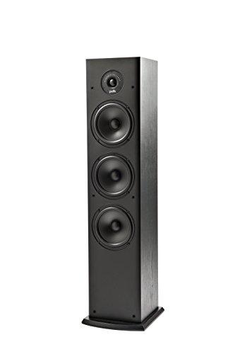 Polk Audio T50 150 Watt Home Theater Floor Standing Tower Speaker (Single) - Amazing Sound | Dolby and DTS Surround