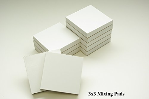 2000 Sheets 3'x3' Dental Mixing Pads Disposable Poly Coated | 20 Pads