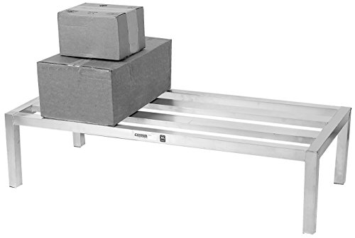 Channel Manufacturing HD2424 24' x 24' Aluminum E-Channel Manufacturing Dunnage Rack - 2500 lb.