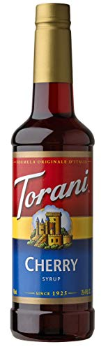 Torani Syrup, Cherry, 25.4 Ounce (Pack of 1)