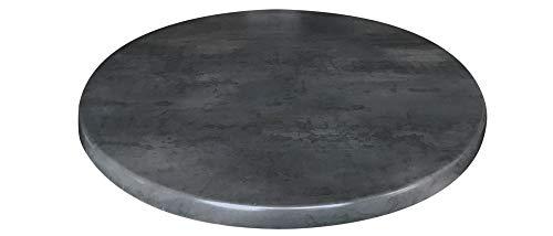 Holland Bar Stool Co. OD36RBlkStl 36' Diameter Black Steel, Season EnduroTop Indoor/Outdoor Table Top