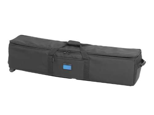 Tenba Transport 48in Rolling Tripod/Grip Case (634-519) Padded Equipment Case with Weatherproof Nylon & Padded Interior