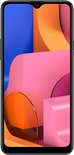Samsung Galaxy A20S w/Triple Cameras (32GB, 3GB RAM) 6.5' Display, Snapdragon 450, 4000mAh Battery, US & Global 4G LTE GSM Unlocked A207M/DS - International Model (Black, 32GB + 64GB SD Bundle)