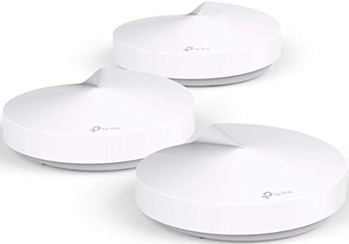 TP-Link Deco Whole Home Mesh WiFi System – Homecare Support, Seamless Roaming, Adaptive Routing, Up to 5,500 sq. ft. Coverage and 100+ Devices (Deco M5)