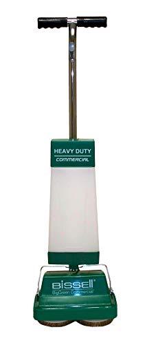BISSELL BigGreen BGFS5000 Portable Two Brush Floor Scrubber & Polisher, Polypropylene, 13' Large x 7' W x 44' H, White & Green