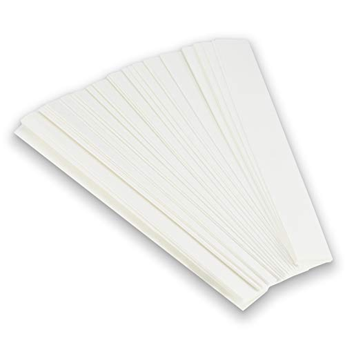 100 Chromatography Paper Strips - Highest Quality Grade 1 Filter Paper - For Pigment Separation and Science Experiment For Chemistry, Laboratories, Classroom, School, University, Student, Kids 6x.75''