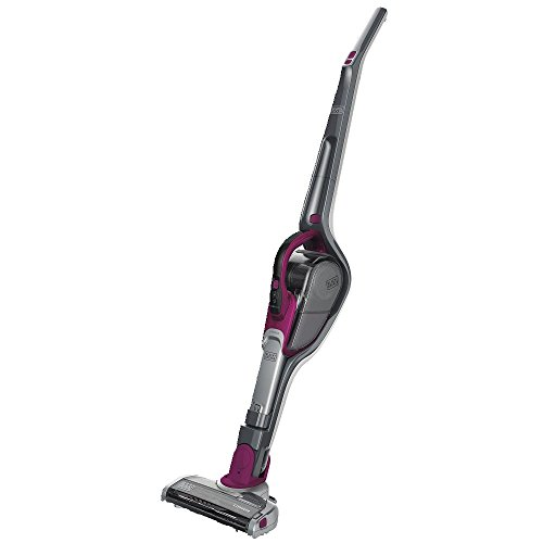 BLACK+DECKER Cordless Stick Vacuum & Hand Vac, 2-in-1, Eggplant Purple (HSVJ520JMBF27)