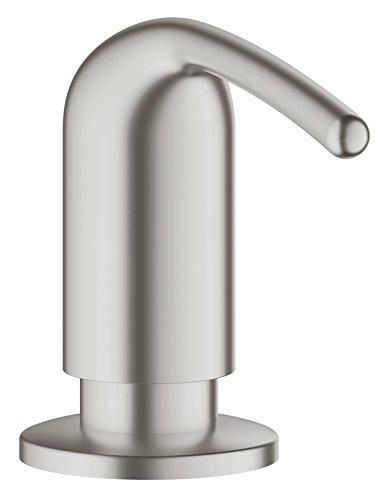 Ladylux Soap/Lotion Dispenser, Super Steel