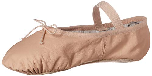 Bloch Women's Dansoft Full Sole Leather Ballet Slipper/Shoe, Pink, 4.5 Narrow