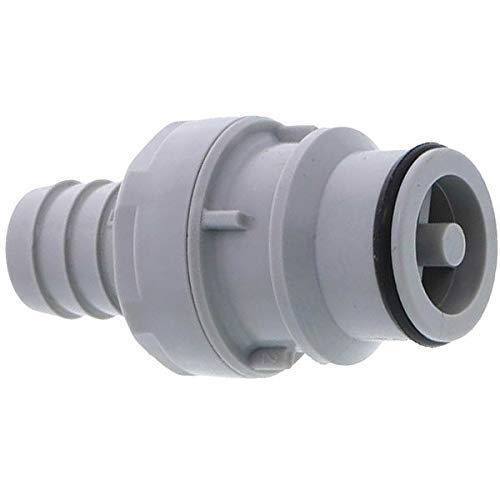 CPC (Colder) HFC22812 CPC (Colder) HFC22812 Quick-Disconnect Fittings, Straight-Through Hose barbs Inserts, PP, 1/2'
