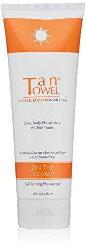Tan Towel On The Glow Body Moisturizer, 8 Fl Oz