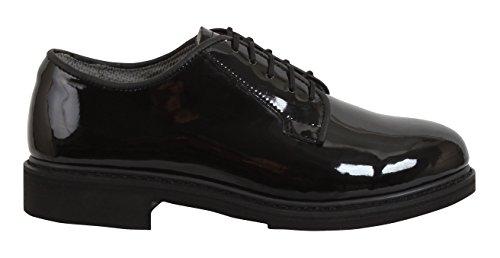 Rothco Uniform Hi-Gloss Oxford Dress Shoe, 11, Regular