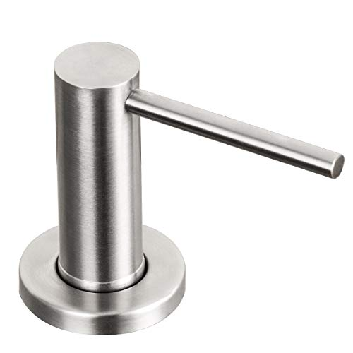 Soap Dispenser for Kitchen Sink Brushed Nickel GAPPO Stainless Steel Countertop Pump Hand Lotion Built In Bottlend Lotion Built In Bottle