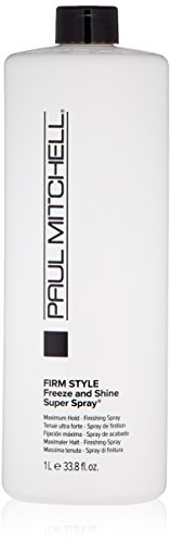 Paul Mitchell Freeze and Shine Super Finishing Spray Refill for Unisex 33.8 fl oz