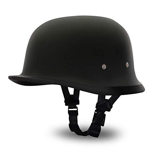 Daytona Helmets German- Dull Black,Medium