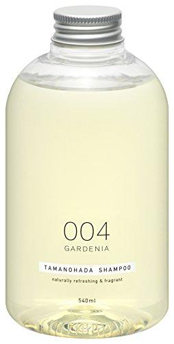 TAMANOHADA 004 Gardenia Natural Hair Shampoo for Women and Men, Silicone-free Shampoo from Japan 18.26 Fl Oz / 540ml