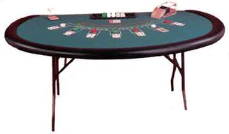 ACEM Casino supplies 73 Inch x 43 x 30 High Legs Blackjack Table - Made in The USA
