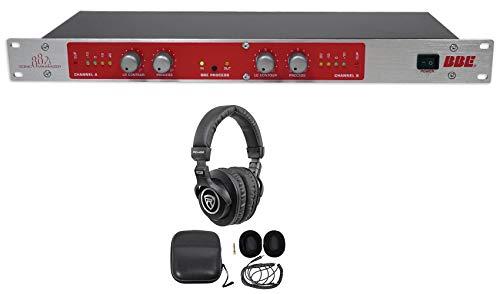 BBE 882I Professional Studio Sonic Maximizer Signal Sound Processor+Headphones