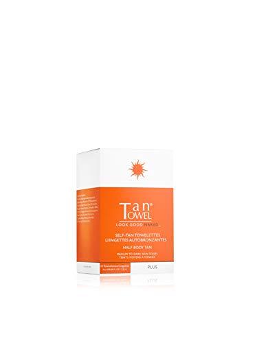 Tan Towel Half Body Plus, 10 Count