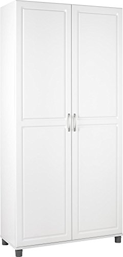 SystemBuild Kendall 36' Utility Storage Cabinet, White