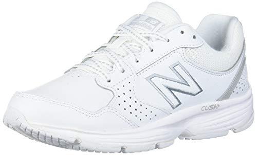 New Balance Women's 411 V1 Walking Shoe, White/White, 8 M US