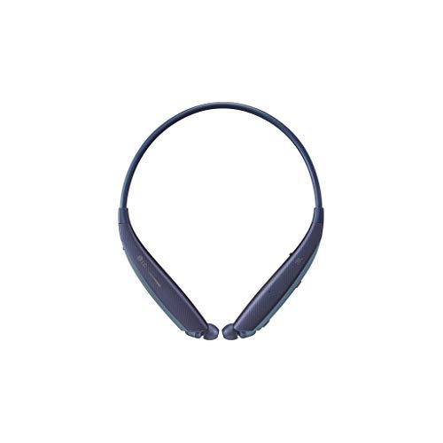 LG Tone Ultra Se Bluetooth Wireless Stereo Neckband Earbuds Tuned by JBL (HBS-835S) - Blue, 5.7' (W) x 6.7' (L) x 0.7' (H)