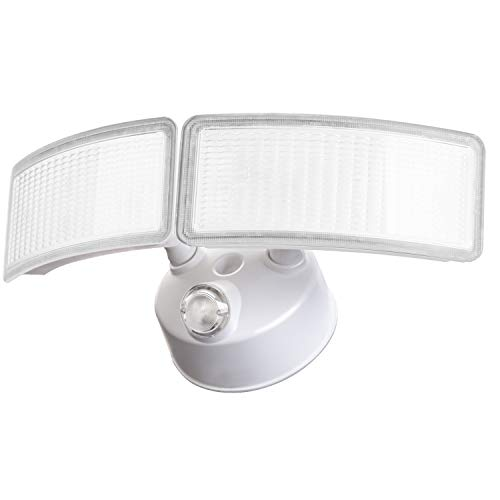 28W Amico LED Flood Light - Dusk to Dawn Security Light Outdoor, 5000K Daylight White 2500 Lumens IP65 Waterproof, 360Adjustable Heads Flood Light Outdoor with Photocell