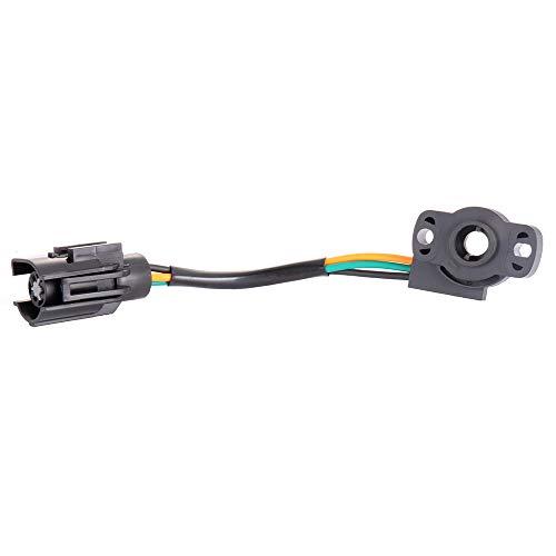 ECCPP Throttle Position Sensor TPS Fit for Ford Bronc/Ford F-150 F-250 F-350/Ford E-150 E-250 E-350 Econoline/Ford E-150 E-250 E-350 Econoline Club Wagon 12339051 12339049 Throttle Sensor 1985-1997