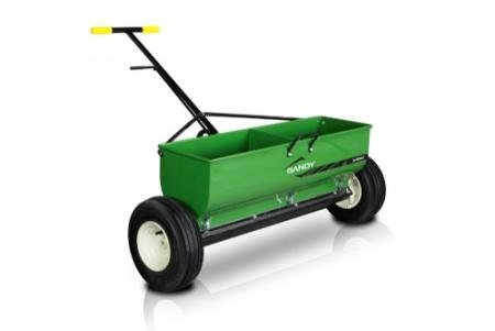 GANDY 36' Variable Rate Drop Spreader with Push-Handle and 13' Pneumatic Wheels