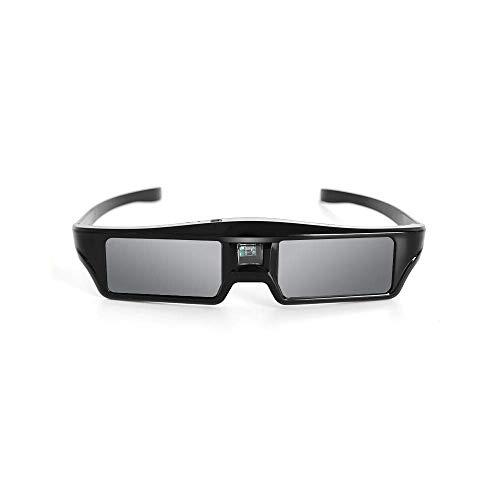 BOVIS 144Hz 3D DLP-Link Active Glasses,3D Active Shutter Rechargeable Eyewear for 3D DLP-Link Projectors