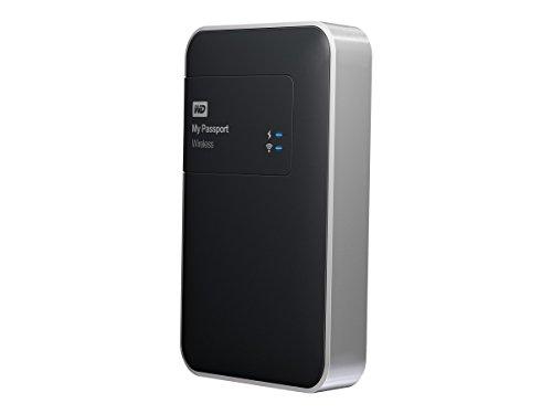 WD 1TB  My Passport Wireless Portable  External Hard Drive  - WIFI USB 3.0  - WDBK8Z0010BBK-NESN