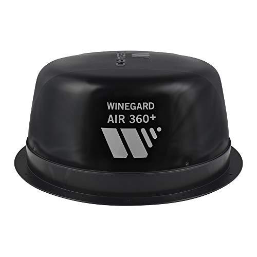 Winegard AR-360B Air 360+ Amplified Omnidirectional VHF/UHF and FM RV Antenna with AR-360B