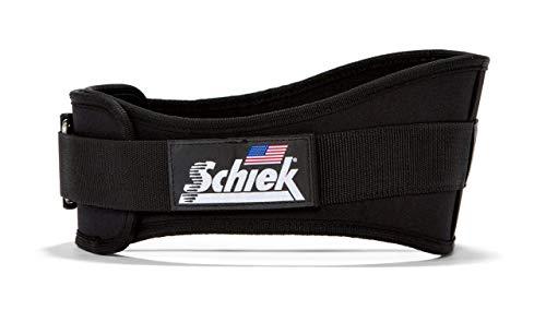Schiek 2006 6' Nylon Weightlifting Belt (Large) Black