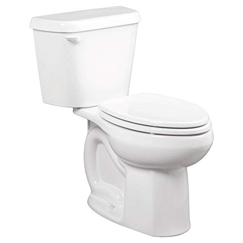 American Standard 221CA104.020 Colony 1.28 GPF 2-Piece Elongated Toilet with 12-In Rough-In, White