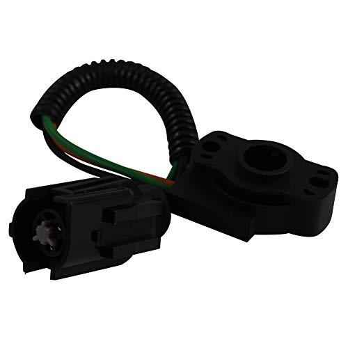 DOICOO Throttle Position Sensor TPS 12339051 12339049 Repalcement for Ford F-150 F-250 F-350 E-150 E-250 E-350 Econoline Club Wagon Bronc Fit 213875 E4AF9B989AA E5AF9B989AA
