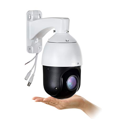 SUNBA Outdoor PTZ Camera, 22X Optical Zoom, 960H Analog High Speed CCTV Security Dome Camera, up to 328ft Night Vision with RS485 Control (405-22X)