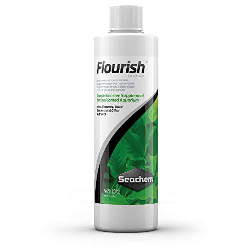 Seachem Flourish Freshwater Plant Supplement - Aquarium Element and Nutrient Blend 500 ml