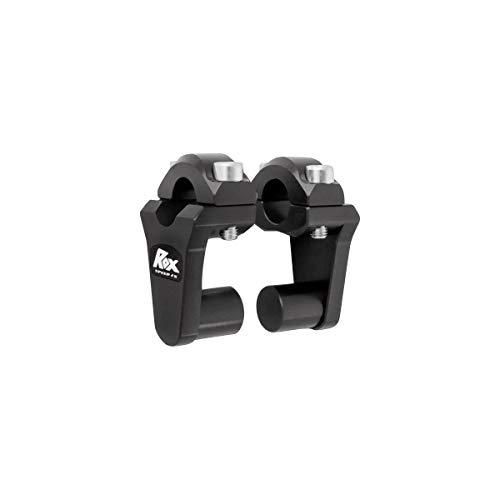 Rox Speed FX Pivot Handlebar 2' Riser 7/8'Handlebar Black 1R-P2SS