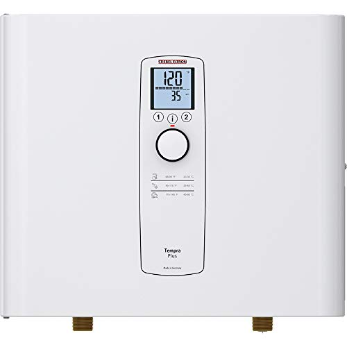 Stiebel Eltron Tankless Water Heater – Tempra 24 Plus – Electric, On Demand Hot Water, Eco, White