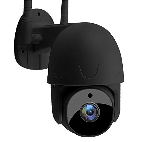 Security Camera Outdoor, SoulLife 1080P HD WiFi Home Surveillance Camera with Pan/Tilt 360° View Waterproof Night Vision, 2-Way Audio Motion Detection Home Security Camera