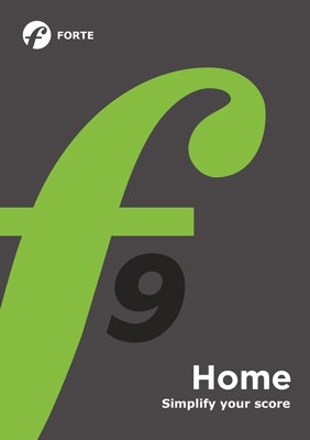 Forte 9 Home - Music Composition Software