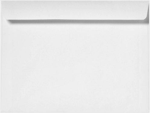 Minas Envelope 6' x 9' Booklet Envelopes, 24lb. White, Gum Flap (500 Envelopes.)