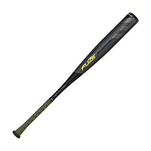 EASTON Project 3 Fuze -3 BBCOR Baseball Bat | 31 inch / 28 oz | 2019 | 1 Piece Aluminum | Carbon-Core | ATAC Alloy | Power Boost Knob | VRS COR | Composite End Cap