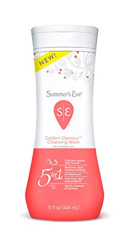 Summer's Eve Feminine Cleansing Wash, Golden Glamour